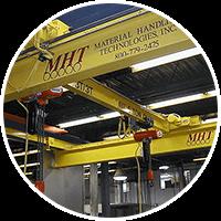 Bridge cranes, monorails and hoists