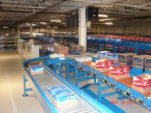 24 Volt Case Conveyor