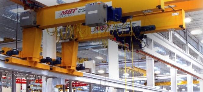 Bridge Cranes, Monorails & Hoist Systems   MHT