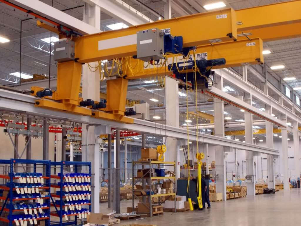 Bridge Cranes, Monorails & Hoist Systems | MHT