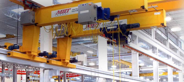 material handling crane system