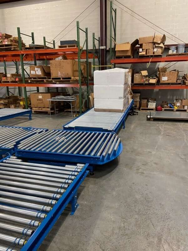 Material Handling Tech turn table