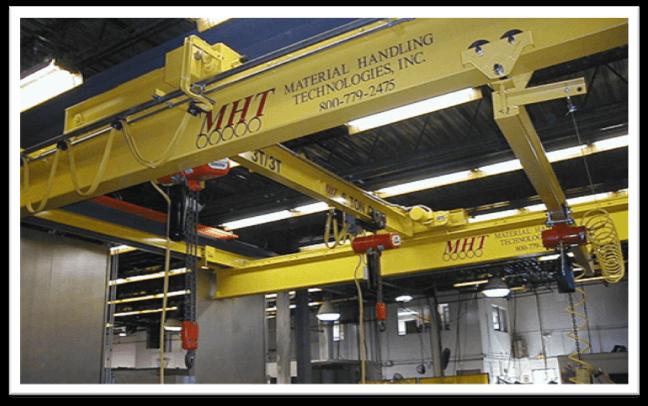 overhead warehouse crane