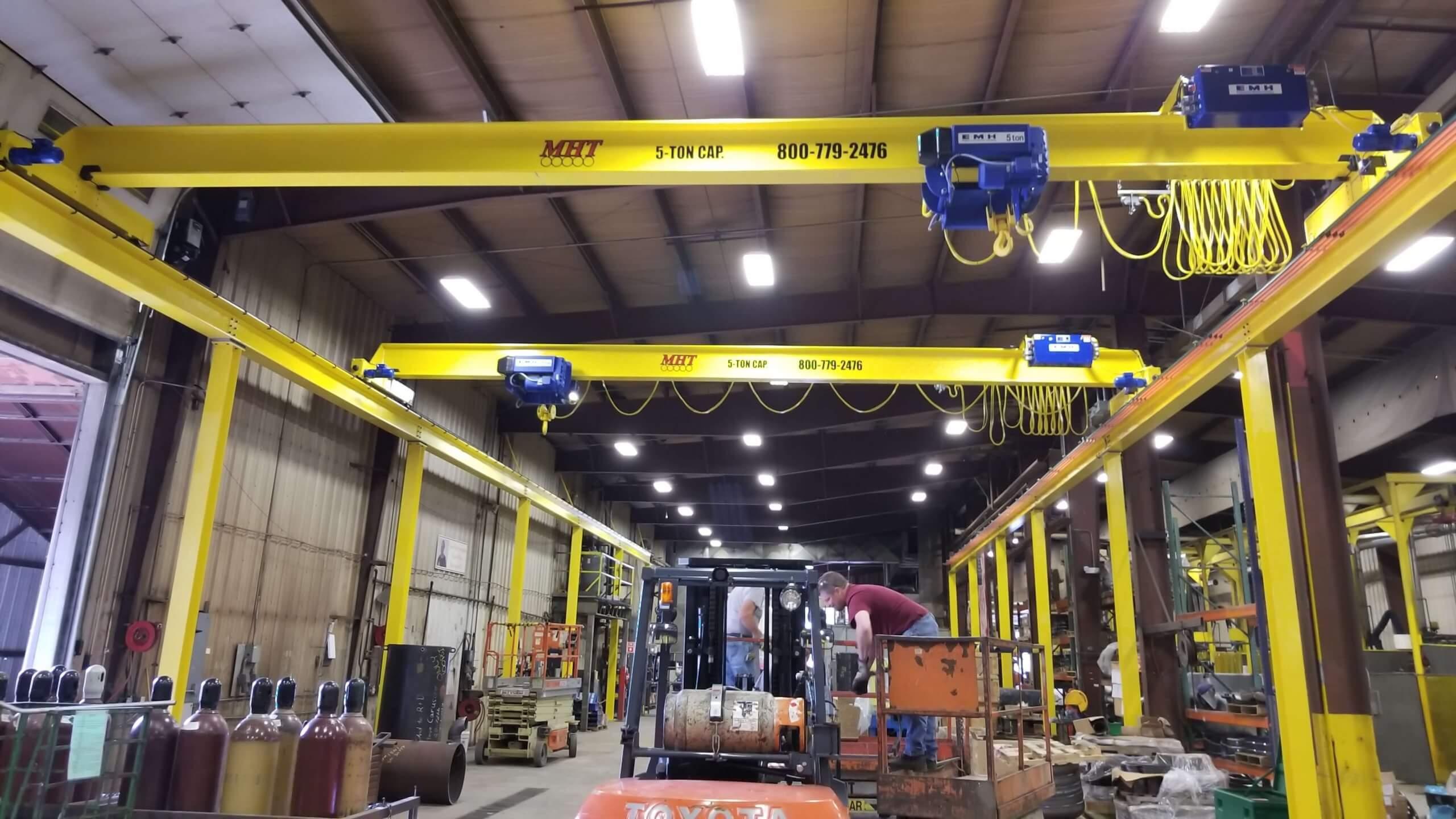 adjustable crane