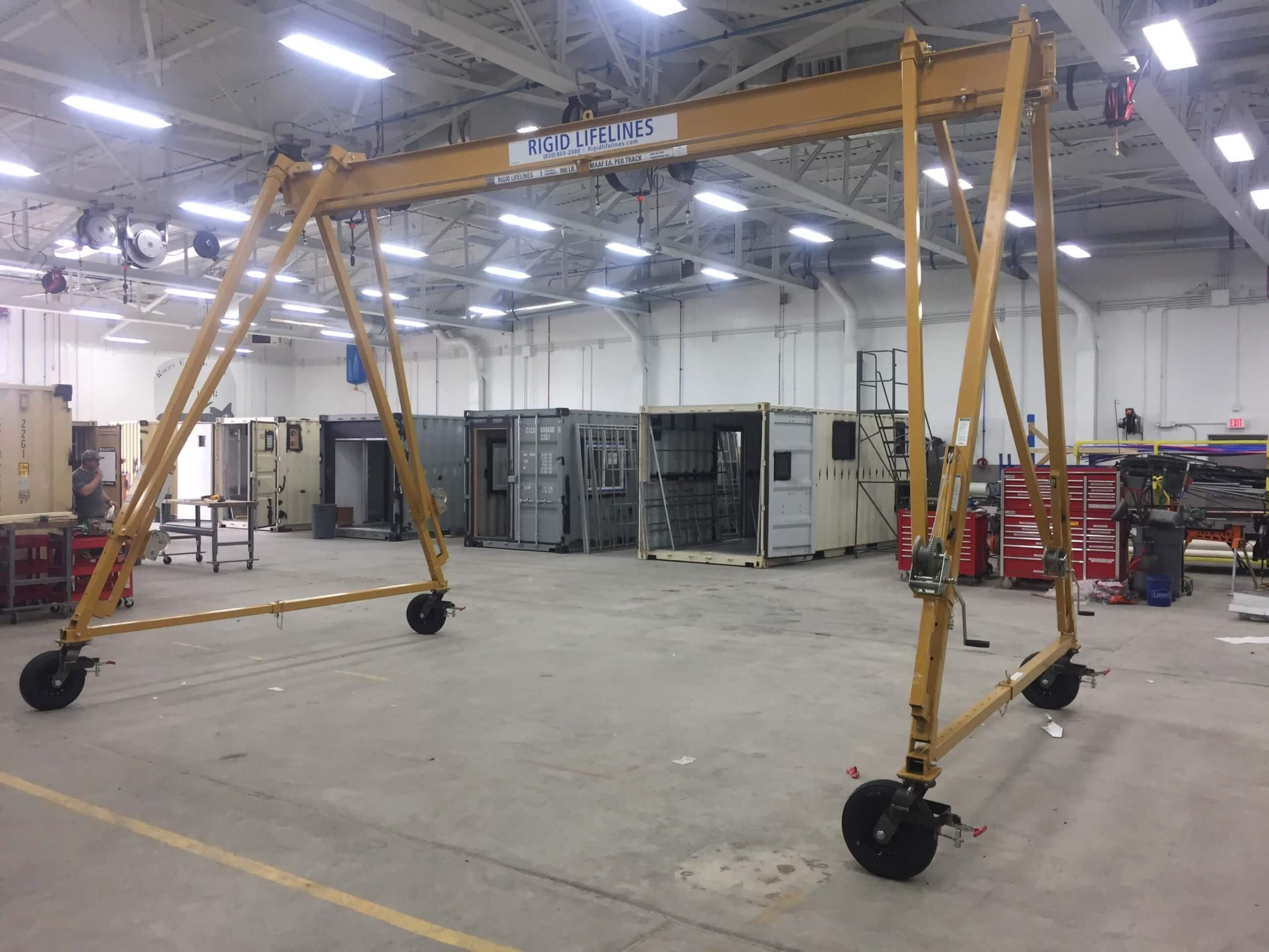 adjustable gantry crane